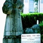 statue photographiée en 2007