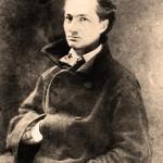 Charles Baudelaire, photo de Nadar 1855